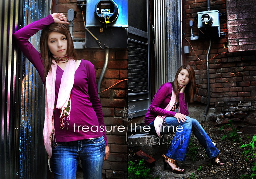 treasure in time girl portrait