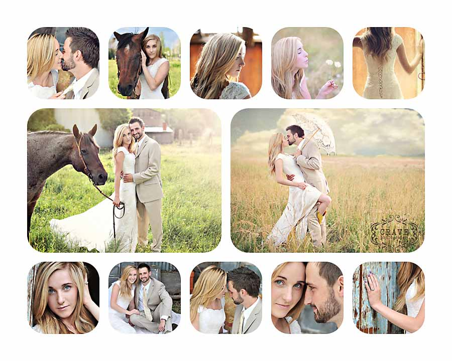 16x20 12 opening rounded print board for Photoshop