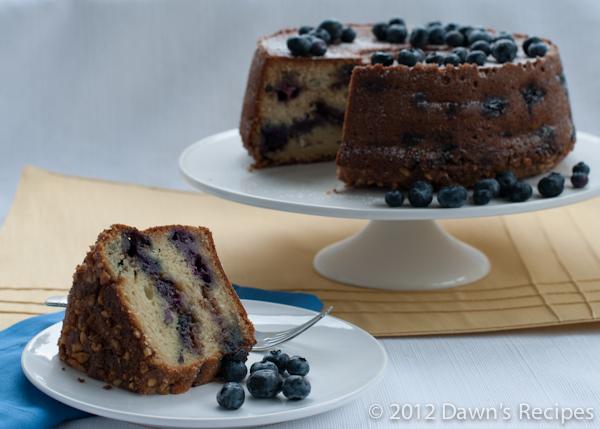 Blueberry Streusel Coffee Cake - Pre Edit