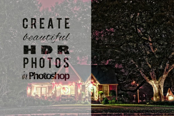 Create HDR in Photoshop