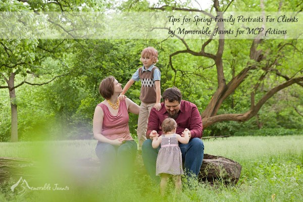 Tips for Planning your Spring Family Portraits