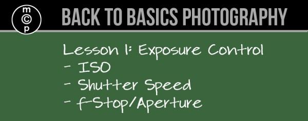 photography lesson on exposure control