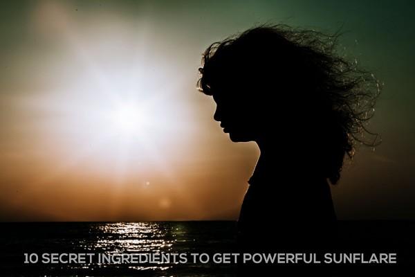 sunflare-silhouette