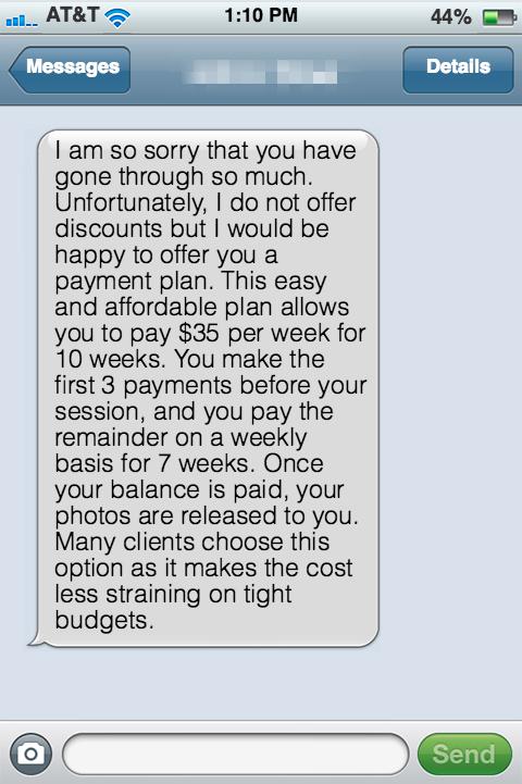 Payment Plan Offer 2