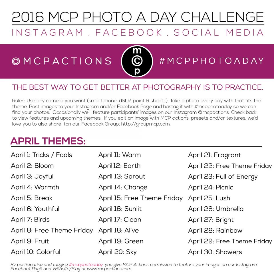 mcpphotoaday april 2016