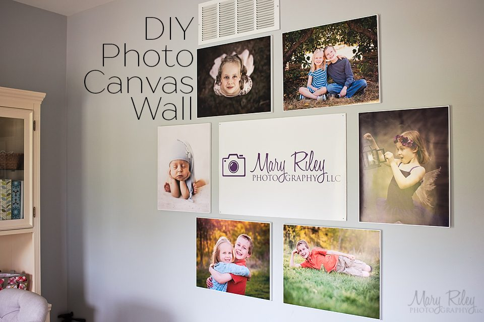 Canvas Wall DIY 2 Mary Riley Photography Wentzville Missouri