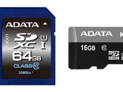 New Adata Premier SD and microSD cards have been officially announced