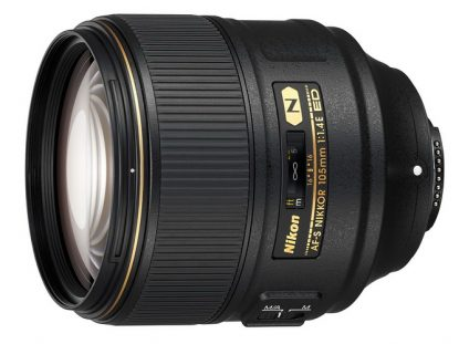 AF-S Nikkor 105mm f/1.4E lens