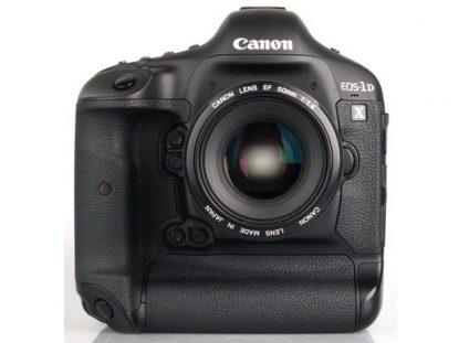 Canon 1D X Mark II dynamic range