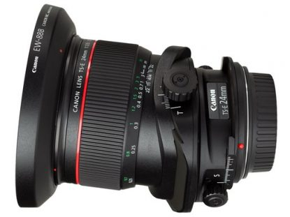 Canon tilt-shift 24mm lens