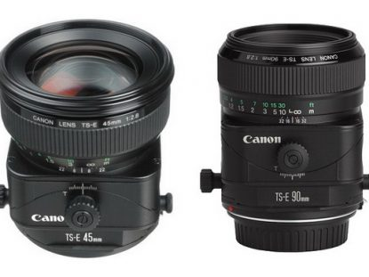 Canon tilt-shift lenses rumor