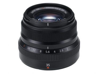 fujifilm xf 35mm f2 r wr lens