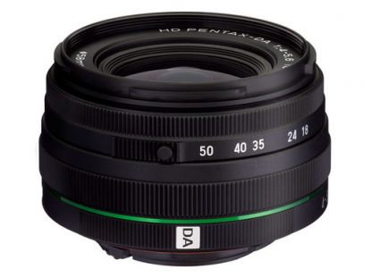 HD Pentax DA 18-50mm f/4-5.6 zoom lens