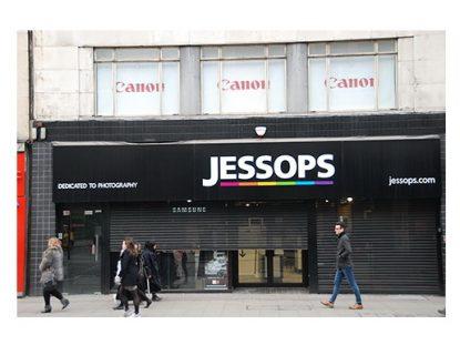 Jessops store reopening in Oxford Street, London