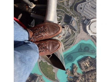 Joe McNally captures foot shop on top of world's tallest building