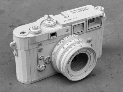 Leica M3 cardboard replica