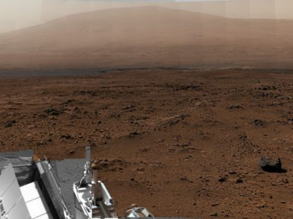 Mars billion-pixel panorama