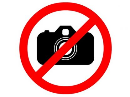 No photos North Korea