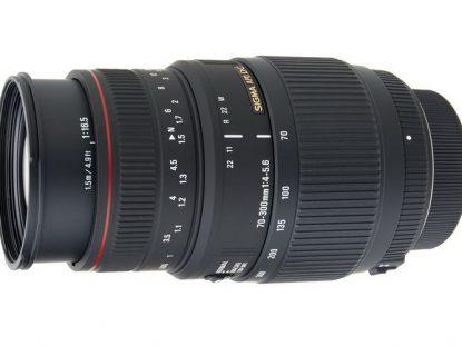 sigma 70-300mm f4-5.6 dg apo macro lens