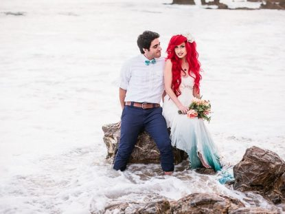 The Little Mermaid Ariel and Prince Eric