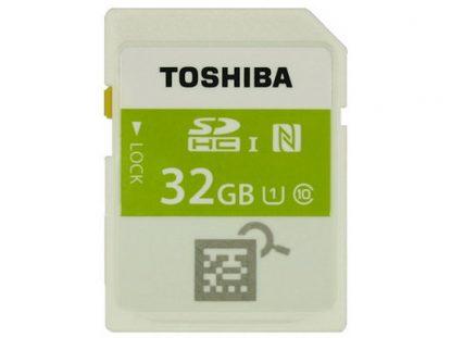 Toshiba NFC SDHC memory card