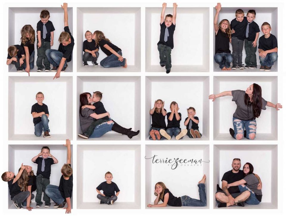 family-121 box composite photo