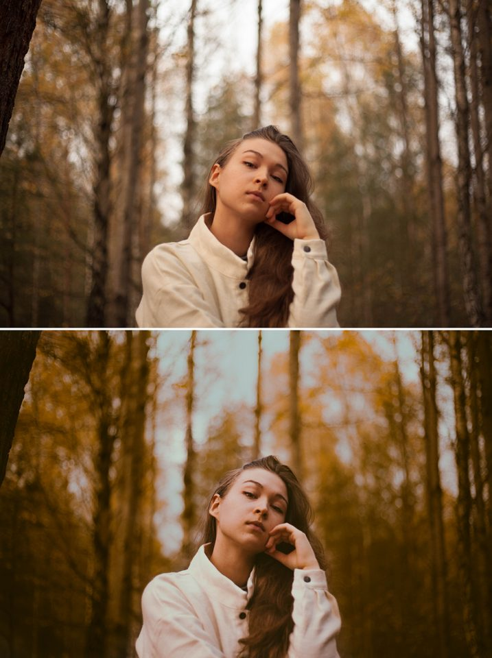 Taya Photo autumn before and after