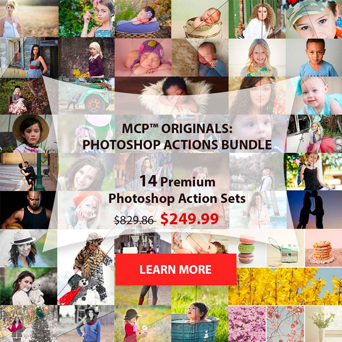 mcp-originals photoshop action set